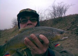 Łowienie pstrągów
