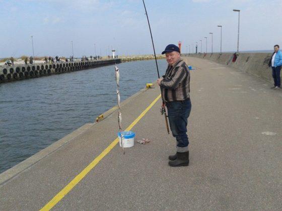 Łowienie ryb z plaży