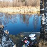Łowienie płoci w ujściu rzeki
