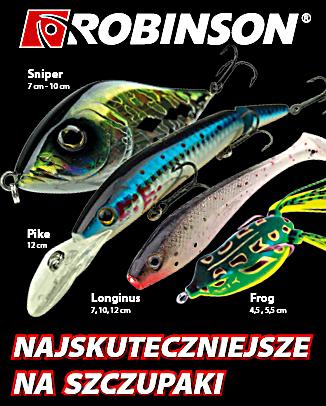 Robinson wędkarstwo 2020
