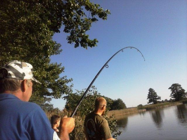 Łowienie ryb latem