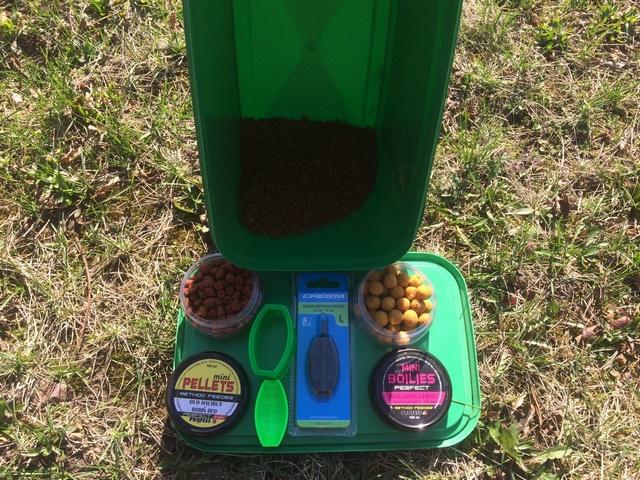 kulki i pellety do method feeder
