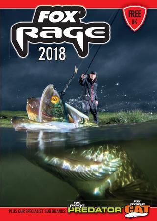 Katalog i nowości Fox Rage 2018