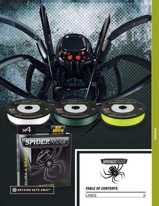 Katalog i nowości Spiderwire 2018