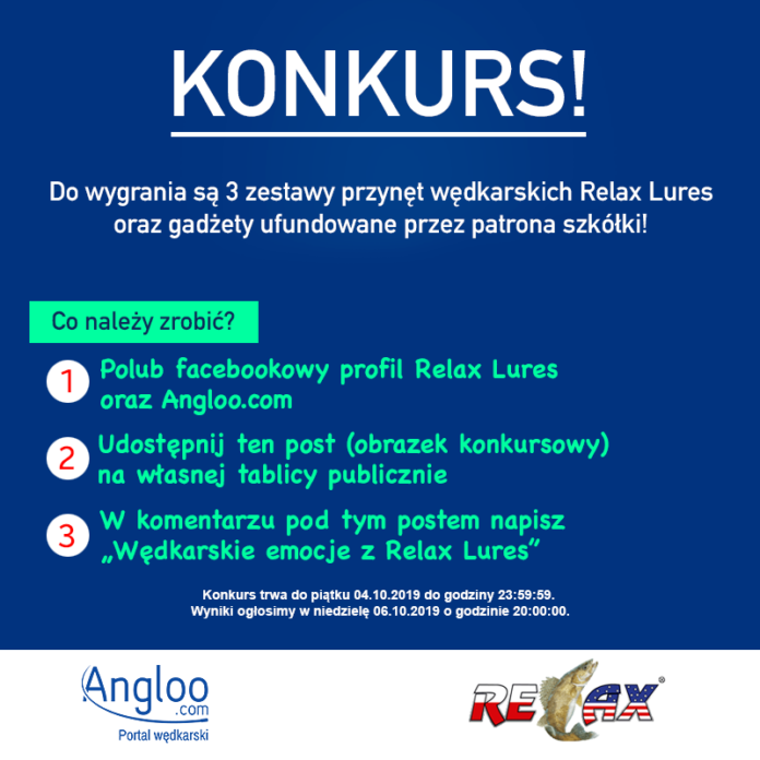 Konkurs Relax Lures