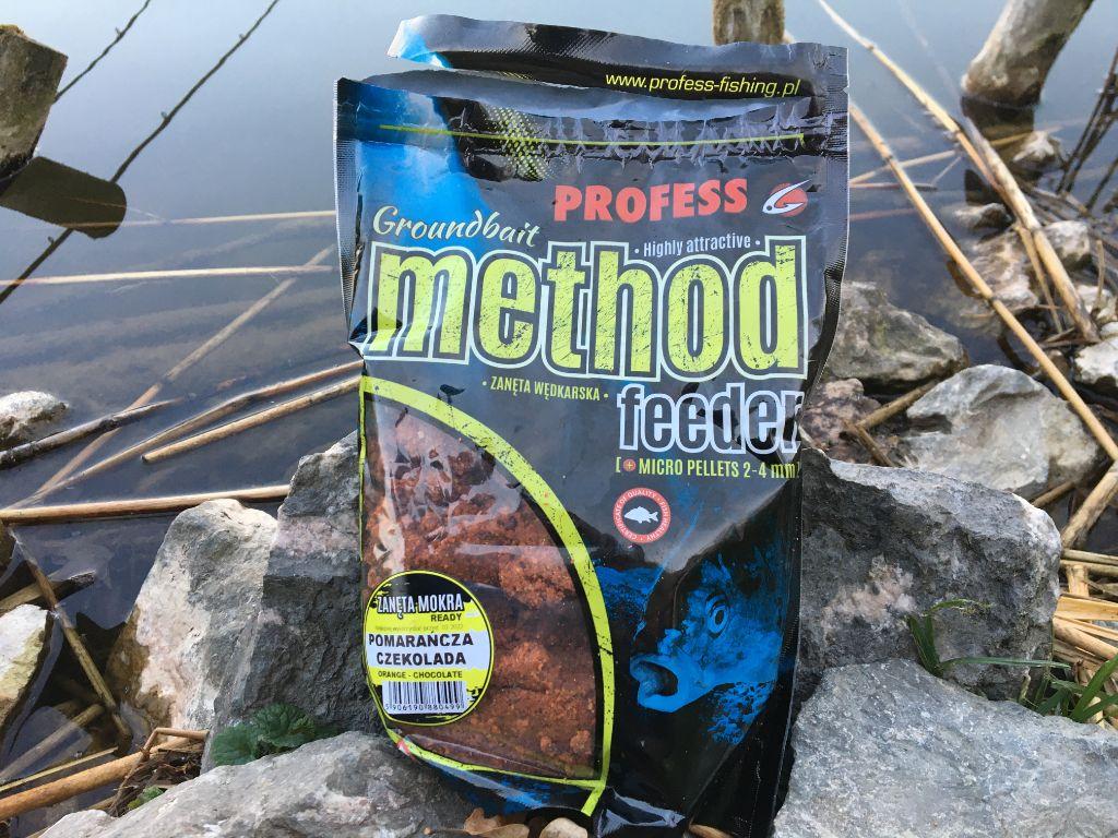Method Feeder Ready Profess Fishing Pomarańcza Czekolada