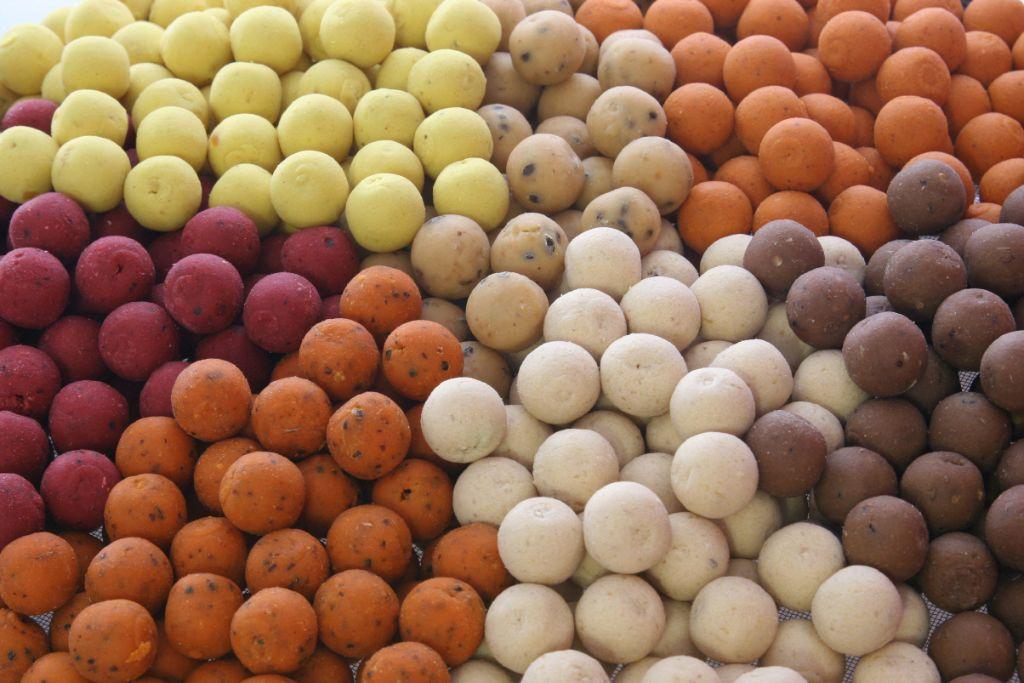 Przynęty karpiowe - orzech tygrysi i kulki proteinowe