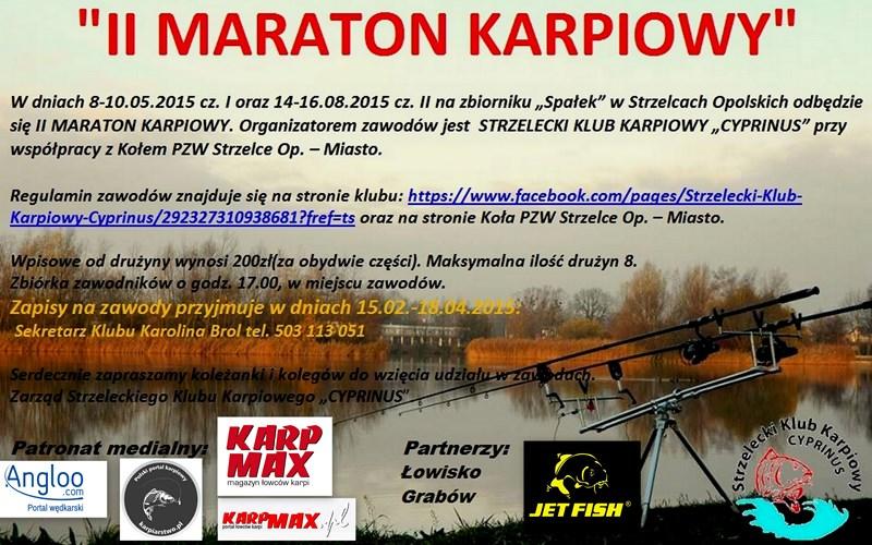 drugi maraton karpiowy