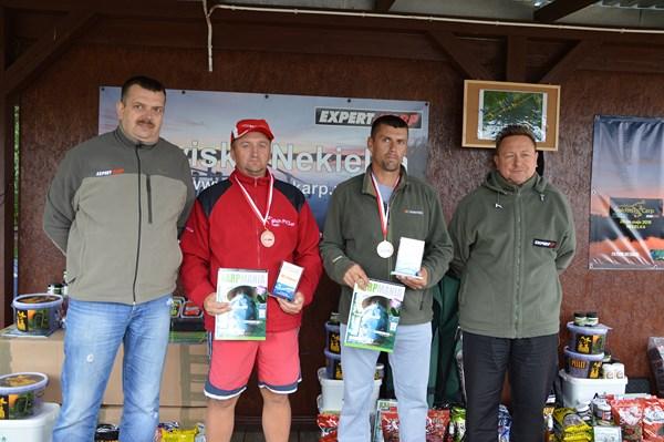 III miejsce zdobyli Ryszard Gabryelczyk i Robert Kubiak