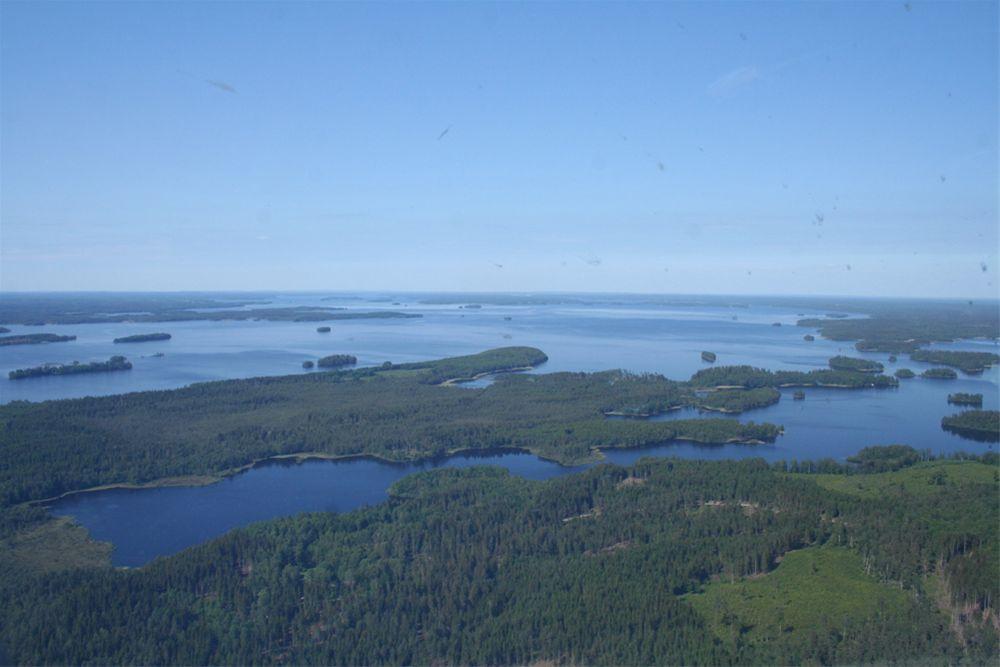jezioro-bolmen-szwecja-z-góry