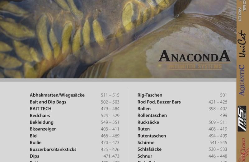 katalog i nowości anaconda 2017