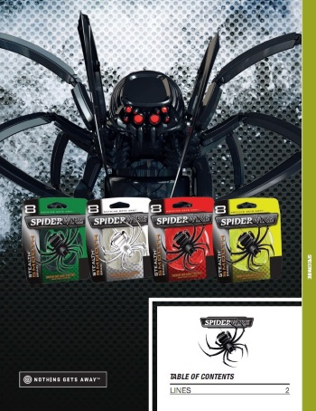 katalog i nowości spiderwire 2017