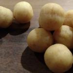 kulki z sfermentowanej kukurydzy
