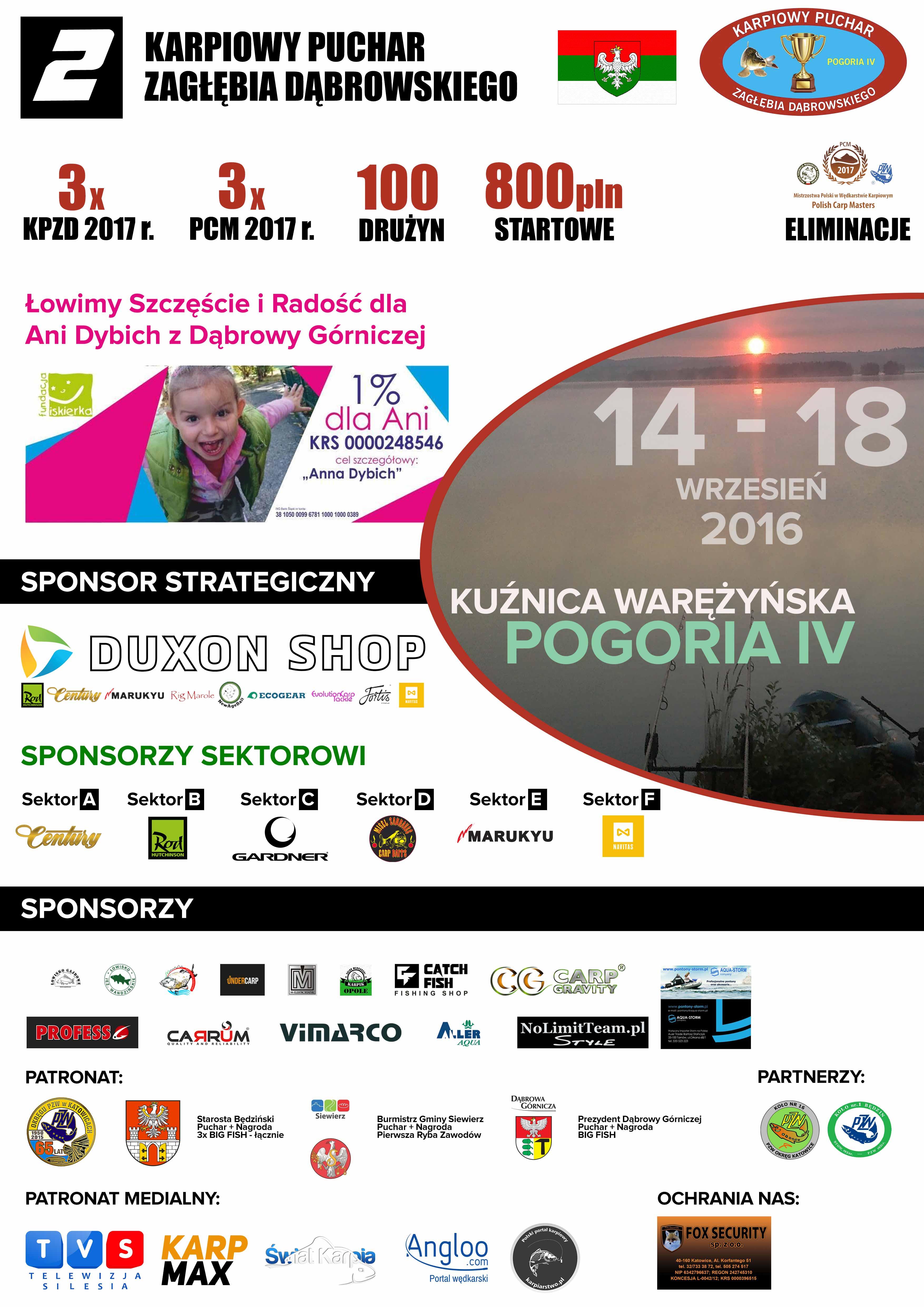 II Karpiowy Puchar Zagłębia Dąbrowskiego
